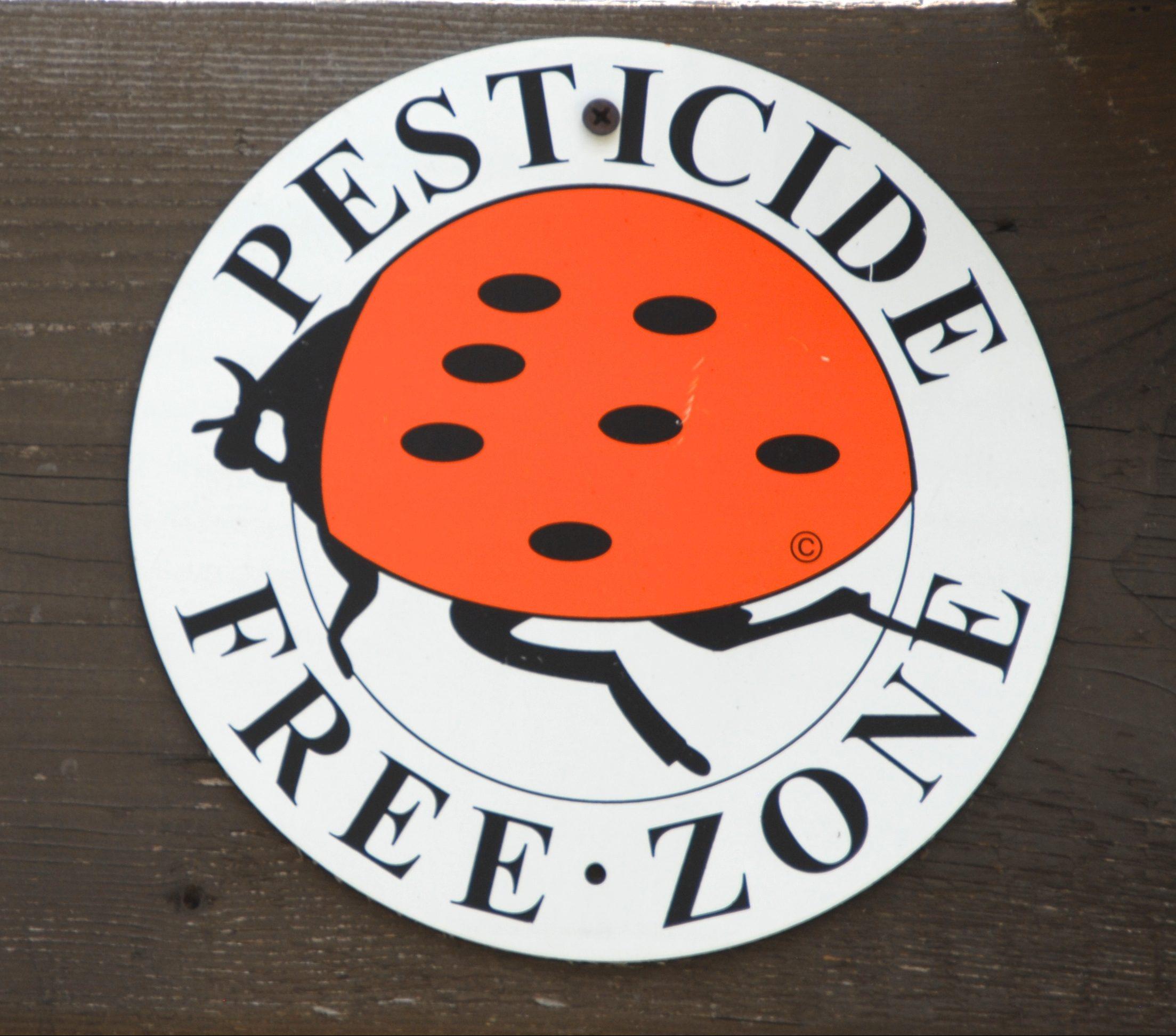 pesticide free zone