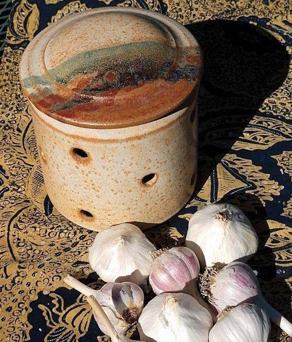 Catherine Abelson Ceramic Garlic Keeper – cropped